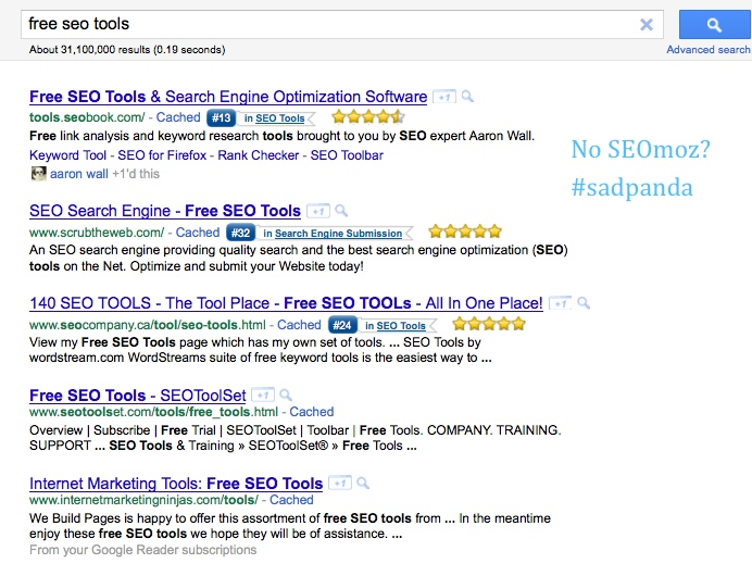 free seo tools query